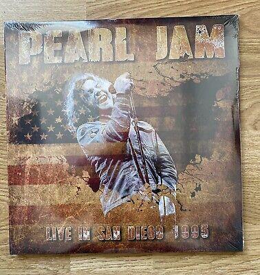 Pearl Jam Live In San Diego 1995 Orange Vinyl