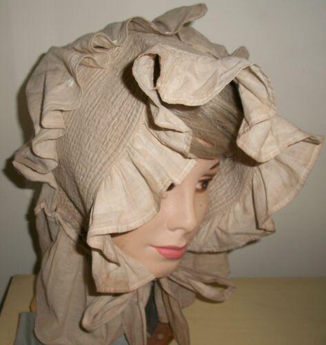 Original Antique Vintage Prairie Bonnet