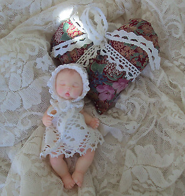 OOAK Polymer Clay Baby Girl by Lydia Albanese  RESALE