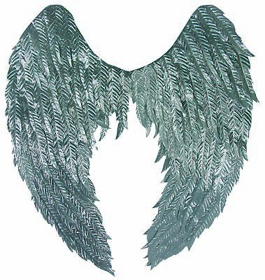 Metallic Silver Fantasy Wings Angel Fairy Adult 20