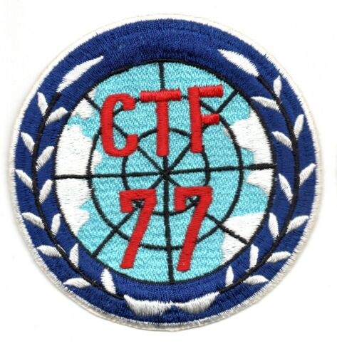 THEATER MADE CTF-77 USN US NAVY PATCH FLIGHT SUIT 1960