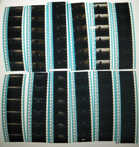 Harry Potter & The Deathly Hallows 1 60 x 35mm Genuine Film Cells 12 x Strips A