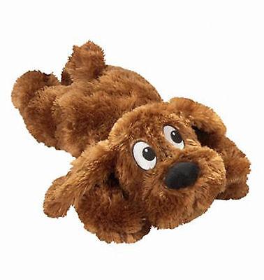 Plüschtier Schlappi 27 cm braun Quietscher Plüsch Hund Spielzeug  Hundespielzeug