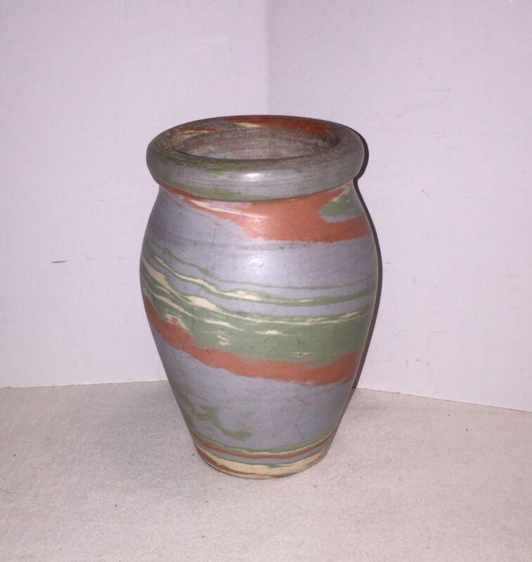 Vintage Niloak Evans Missionware Vase Unmarked