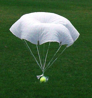 "Flare Parachute 36"" NEW - Original Military USA- 4 Rocket, Toy Or RC  Qty-1"