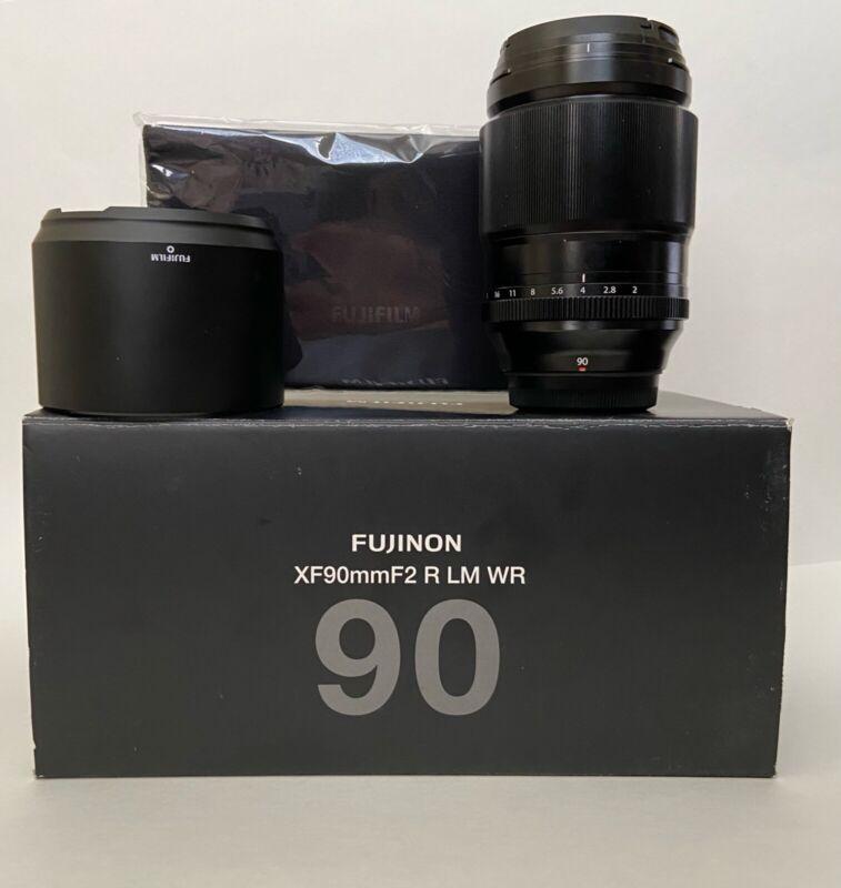 Fujifilm 16463668  Fujinon XF 90mm F/2 R Lens PURE MAGIC