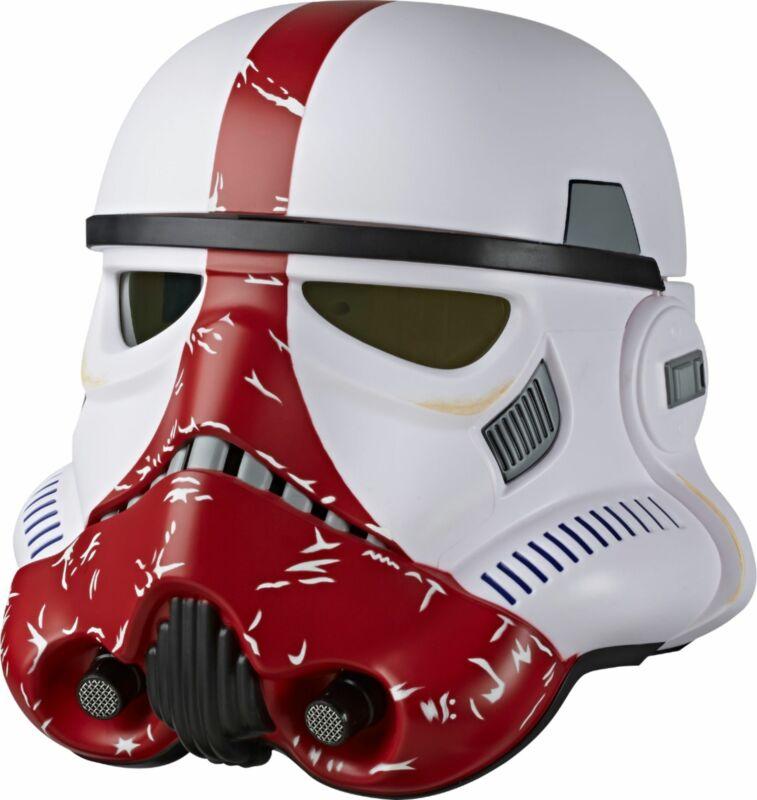Star Wars - The Black Series Incinerator Stormtrooper Premium Electronic Helmet