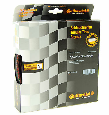 Continental Sprinter Gatorskin 700x25 Tubular Tire