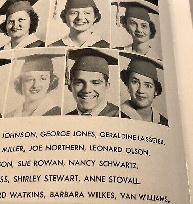 Van Williams Green Hornet Senior High School Yearbook 1952