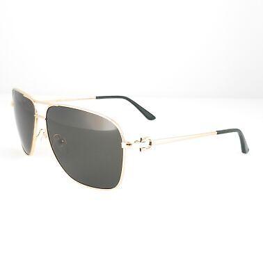 Salvatore Ferragamo Sunglasses SF170S 756 SHINY YELLOW GOLD Men 61x12x140