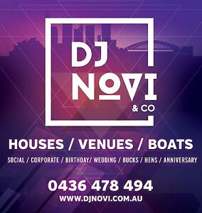 DJ NOVI & Co - BEST VALUE! Bondi Beach Eastern Suburbs Preview