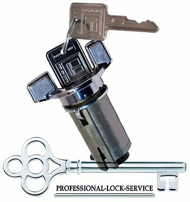 Chevy El Camino 70-78 Ignition Key Switch Lock Cylinder Tumbler Barrel 2 Keys  - El Camino Ignition Key Lock