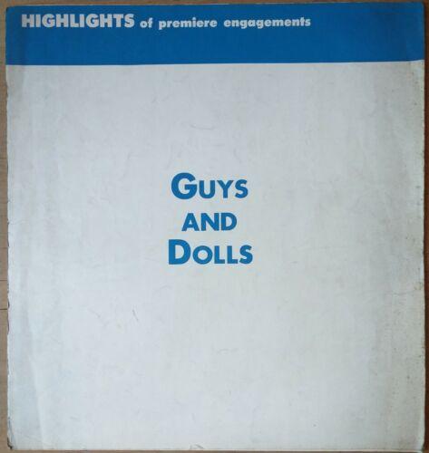 GUYS AND DOLLS, Marlon Brando, Jean Simmons, 1955, Pressbook 603
