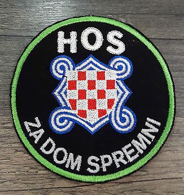 HOS Ustasa Moslem Aufnäher Patch Crna Legija Za dom spremni Kroatien