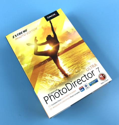 CyberLink PhotoDirector Ultra 7 Software - Complete Photo Adjustment & Design
