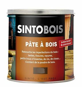 sintobois pate a bois tradition interieur exterieur 500 gr. Black Bedroom Furniture Sets. Home Design Ideas