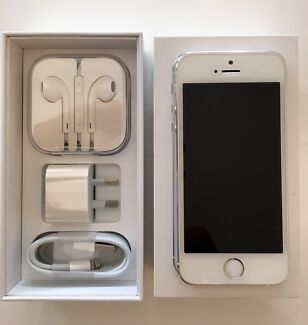 iPhone 5s 64gb Unlocked Silver As New Monash Tuggeranong Preview