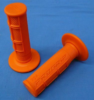 Yamaha Yz85 Yz125 Orange Twist Grips Made Italy Engine Motor Cylinder Pipe