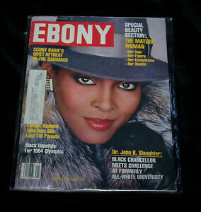 Ebony Magazine Special Beauty Section The Mature Woman ...