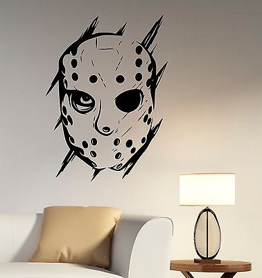 Decal Scary Movie Vinyl Sticker Art Bedroom Horror Decor jv1 (Jason Scary Movie)