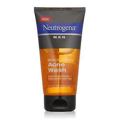 Neutrogena Men Skin Clearing Daily Acne Face Wash with Salic