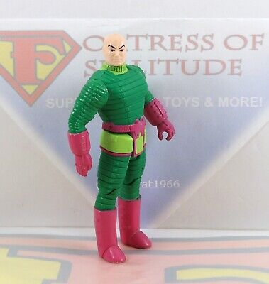 Vintage 1984 Kenner DC Super Powers Lex Luthor Action Figure ~Superman Villain