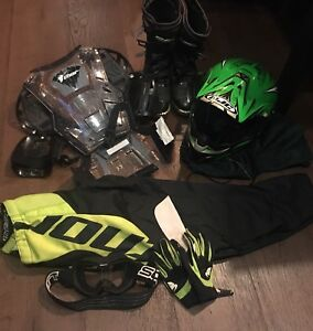 Youth Motocross Dirt Bike Equipment