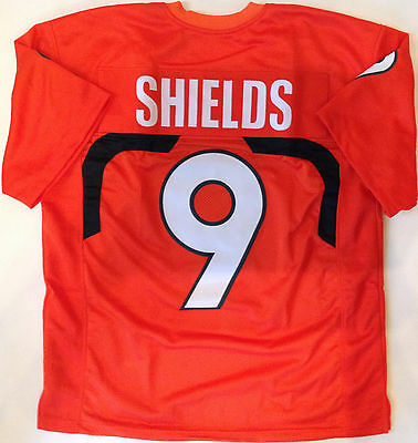 Sam Shields (SAM SHIELDS UNSIGNED CUSTOM ORANGE JERSEY)