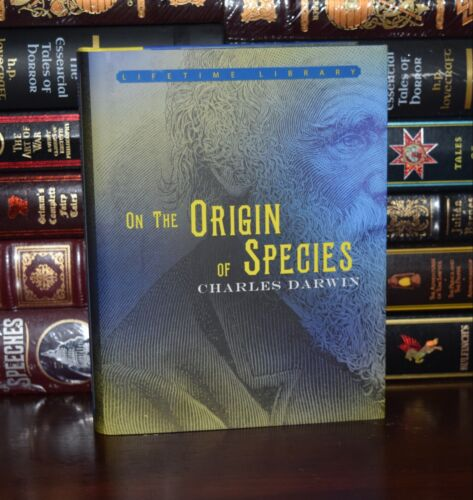 On the Origin of Species by Charles Darwin New Deluxe Hardcover Classics Gift