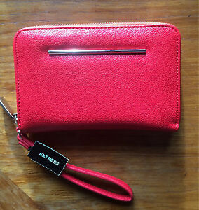 Red Express Clutch/Wallet