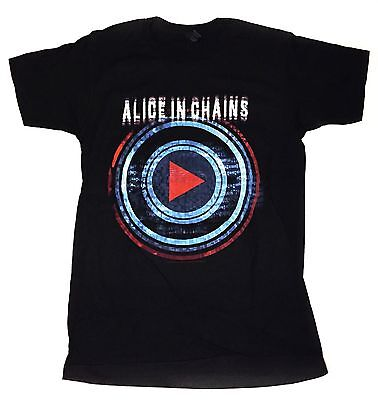 Alice In Chains - Played Here Licensed Small T-Shirt - Black Concert Tee