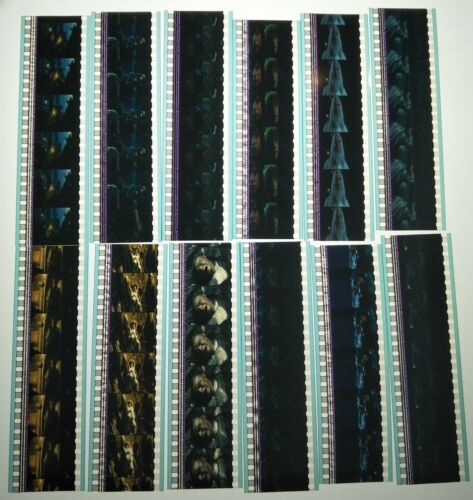 Lord Of The Rings Return Of The King Movie 60 x 35mm Orig Film Cells 12 Strips A