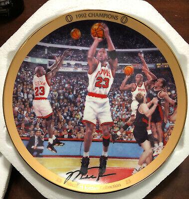 Michael Jordan Bradford Exchange MJ Collection Plate #3