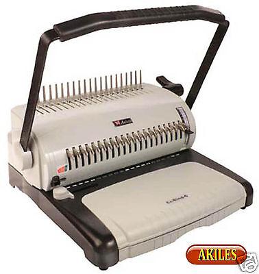 Akiles Ecobind-c Comb Binding Machine Punch 12-inch New