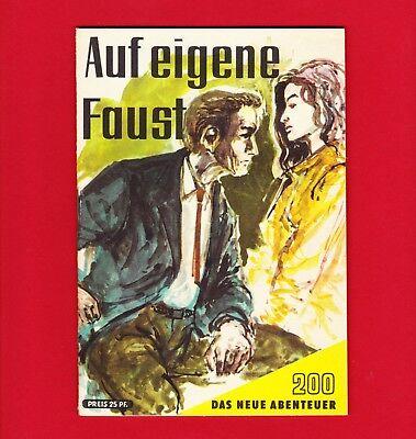 DDR Das neue Abenteuer Nr. 200 Auf eigene Faust 1962