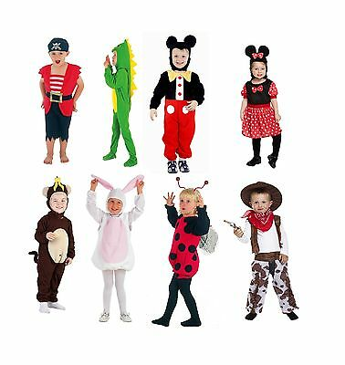 UNISEX Toddler Fancy Dress Up Kids Children Complete Outfit 2-3 Years Old Party - Pirate Costume 2 Year Old