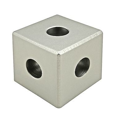 8020 Inc T-slot Aluminum 3 Way Squared Corner Connector 15 Series 4442 N