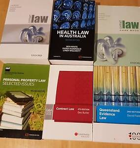 CHEAP LAW TEXTBOOKS!!! - Prices negotiable Sandgate Brisbane North East Preview