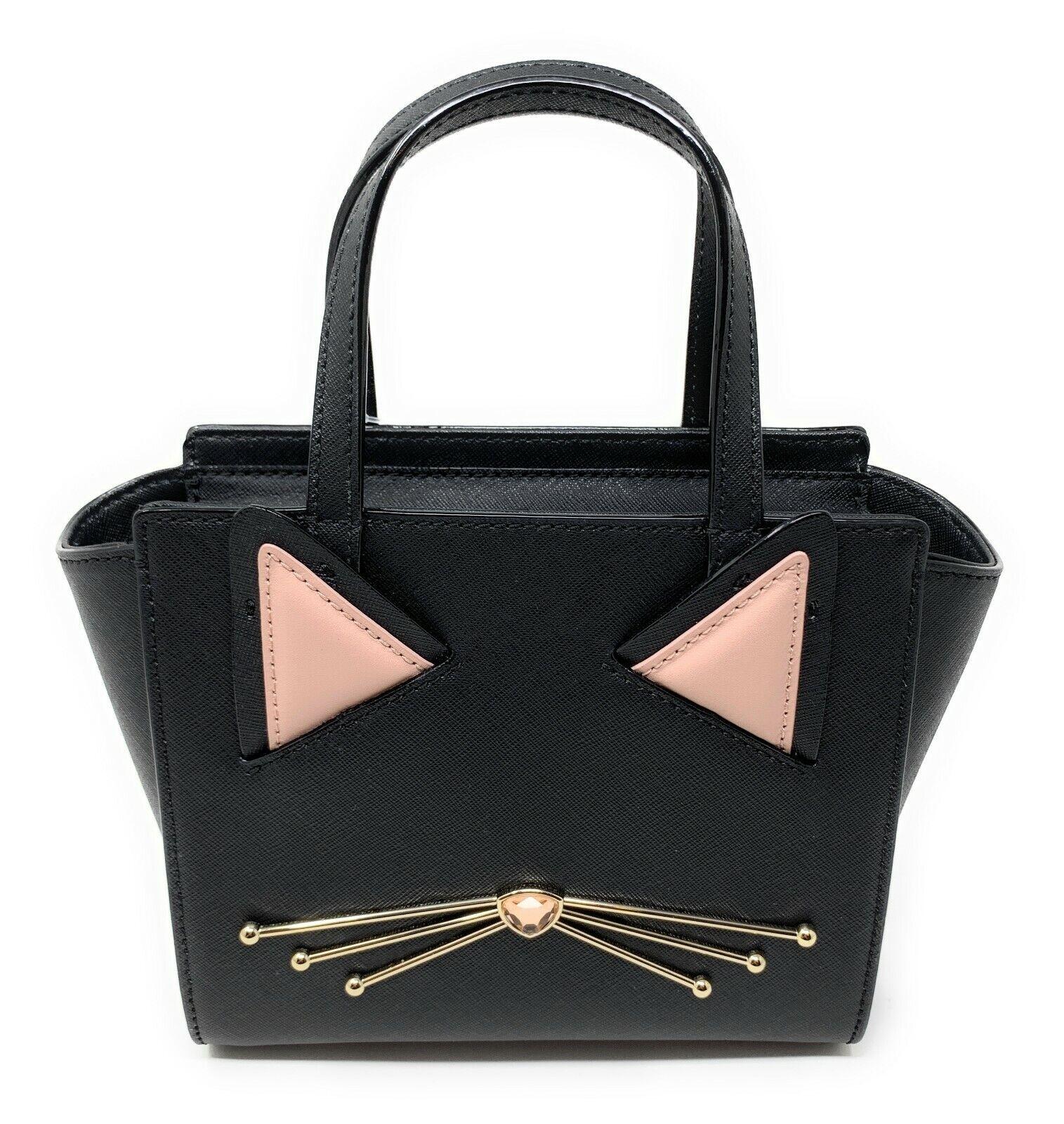 Kate Spade Jazz Things Up Cat Mini Hayden Crossbody Satchel Bag
