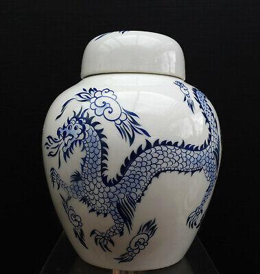 Schöne ältere Asiatische Porzellan Teedose