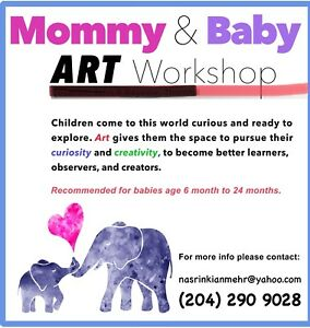 Art workshop for little ones with mum