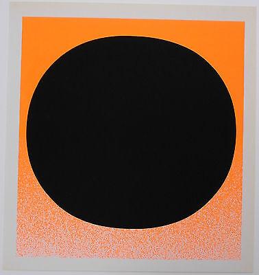 Rupprecht Geiger farbiger Siebdruck 1968 schönes Blatt