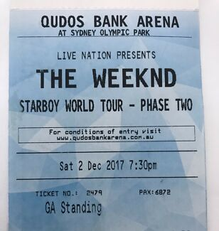 Weeknd / GA / 2nd Dec