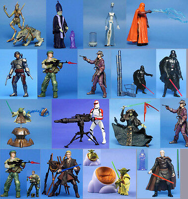 STAR WARS AOTC MASSIFF DOOKU YODA CLONE TROOPER JANGO ANAKIN GUARD LOTT LUMINARA