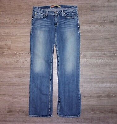 BIG STAR SWEET LOW RISE BOOT FIT JEANS - WOMENS/JUNIORS SIZE 30