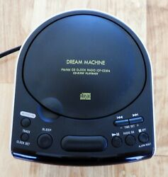 Vintage Sony Dream Machine ICF-CD 814 - CD Player - Alarm Clock - AM FM Radio