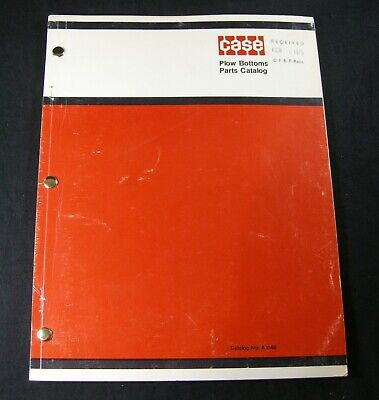 Case Moldboard Plow Bottoms Parts Manual Catalog Book 1969 And After Oem