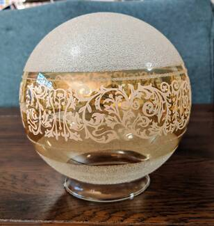 Etched Glass Lamp Shade Carnegie Glen Eira Area Preview