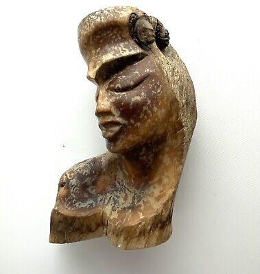 MCM Paul Fujimoto ? Carved Milo Wood Art Sculpture Candleholders • Numbered