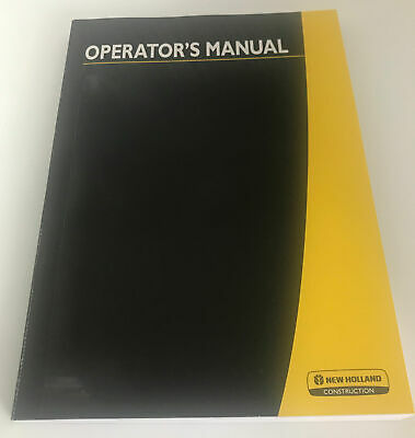New Holland Ce W50tc W80tc Compact Wheel Loader Operators Manual